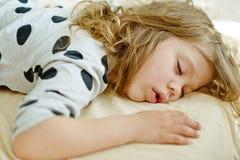 Rêves doux d'enfant Images stock