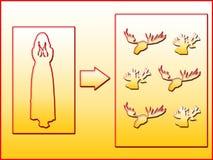 Rêves secrets des épouses fraudées Images stock