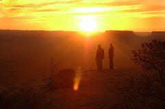 Rêveurs de désert Image stock