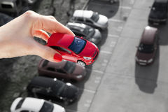 Rêvez d'avoir une voiture photo libre de droits