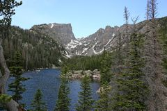 Rêvez le lac images libres de droits