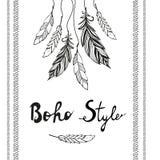 Rêvez le receveur Style de Boho Photos stock