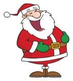 Ríe a Papá Noel Fotos de archivo