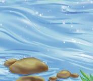 Río stock de ilustración