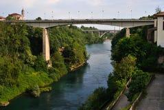 Río Adda Imagenes de archivo