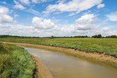 Río Adur, Sussex del oeste Imagen de archivo libre de regalías