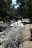Río agradable que atraviesa las rocas Foto de archivo libre de regalías