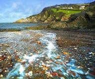 Río al mar Fotografía de archivo libre de regalías