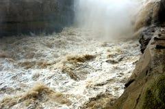 Río amarillo foto de archivo libre de regalías