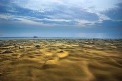 Río amarillo Fotos de archivo libres de regalías