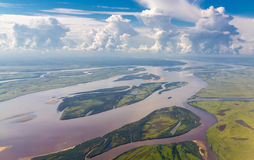 Río Amur Imagen de archivo