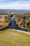 Río Aquitaine France foto de archivo