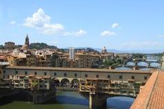 Río Arno Fotografía de archivo