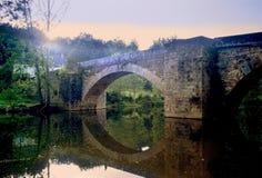 Río Aveyron Imágenes de archivo libres de regalías
