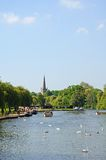 Río Avon, Stratford-sobre-Avon Fotos de archivo