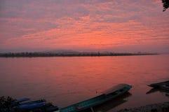 Río azul Imagenes de archivo
