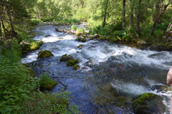 Río Batshelak Imagen de archivo libre de regalías