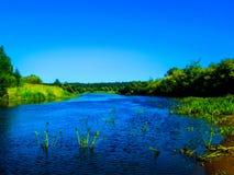 Río Berezina belarus Fotografía de archivo
