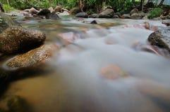 Río borroso Fotografía de archivo
