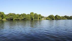 Río Botswana África de Chobe almacen de metraje de vídeo