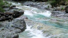 Río Bujaruelo de Rio Ara en el valle los Pirineos Huesca Aragón de Valle de Ordesa metrajes