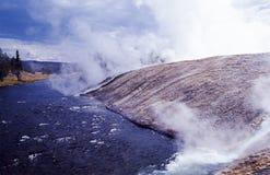 Río caliente Fotografía de archivo