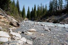 Río canadiense Fotos de archivo libres de regalías