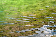 Río con la cascada Fotos de archivo