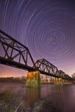 Río con la noche Fotos de archivo libres de regalías