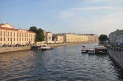 Río costero Imagen de archivo