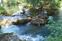 Río Croacia del parque de Krka Fotografía de archivo
