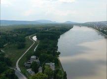 Río Danubio Fotos de archivo libres de regalías