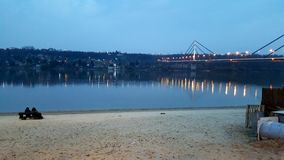 Río Danubio Foto de archivo