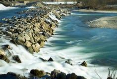 Río de Adda Fotos de archivo libres de regalías