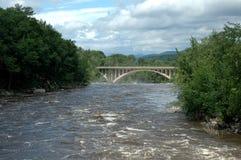 Río de Androscoggin Fotos de archivo libres de regalías