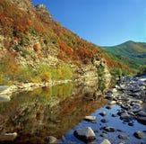 Río de Arda, Rodopi Bulgaria Fotos de archivo