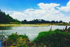 Río de Arges Foto de archivo