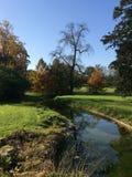 Río de Autumn Fall Park Fotos de archivo