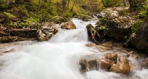 Río de Bodental, Austria Foto de archivo libre de regalías
