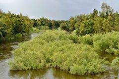 Río de Breede Imagen de archivo libre de regalías