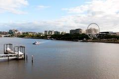 Río de Brisbane Foto de archivo libre de regalías
