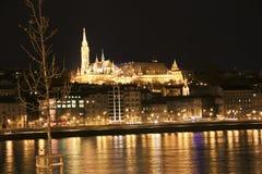 Río de Budapeste, Hungría Imagen de archivo libre de regalías