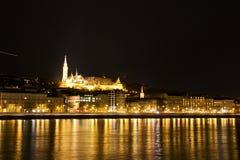 Río de Budapeste, Hungría Fotos de archivo