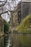 Río de Cambridge Fotos de archivo libres de regalías