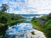 Río de Changuinola Foto de archivo