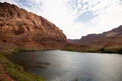 Río de Colorado Imagenes de archivo