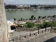 Río de Danub foto de archivo