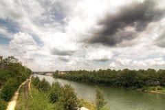 Río de Danubio Imágenes de archivo libres de regalías