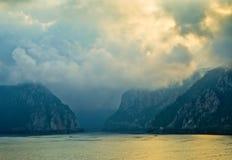 Río de Danubio Fotos de archivo libres de regalías