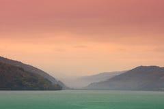 Río de Danubio Fotografía de archivo